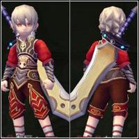 龍之谷戰士時裝