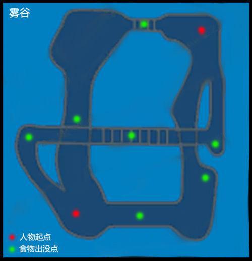 《龍之谷》PVP競技場地圖食物刷點大全